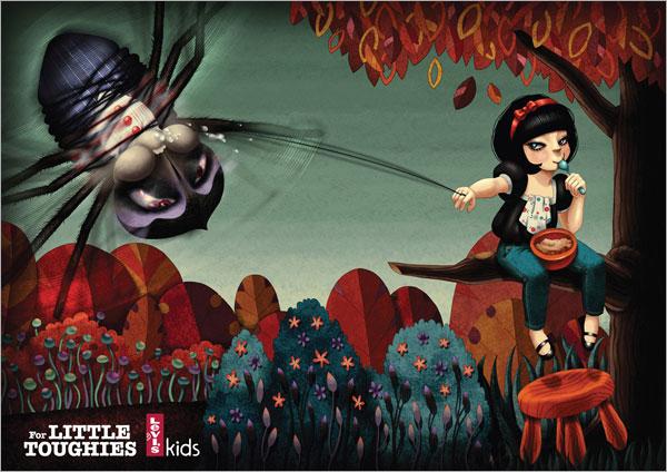 reklama 2  Креативные рекламные принты: №2