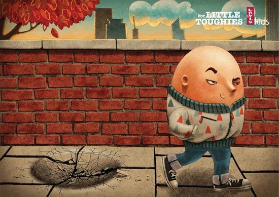 grafika i dizayn  Реклама по мотивам любимых сказок