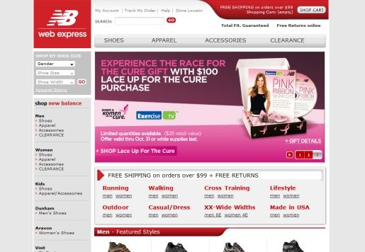 New Balance Web Express