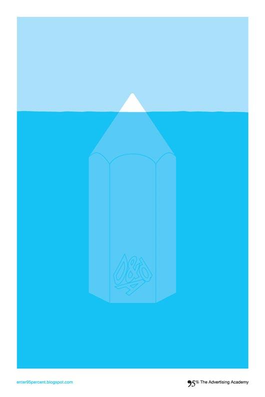 grafika i dizayn  Минимализм в печатной рекламе