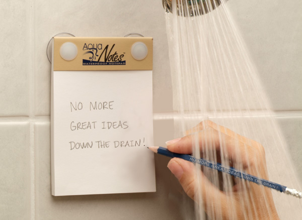 new interesting things for your Bathroom Waterproof Notepad