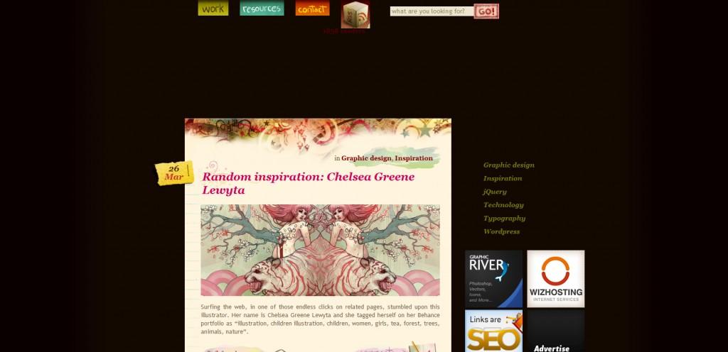 """grafika i dizayn  40 веб сайтов с """"радужным"""" дизайном"""