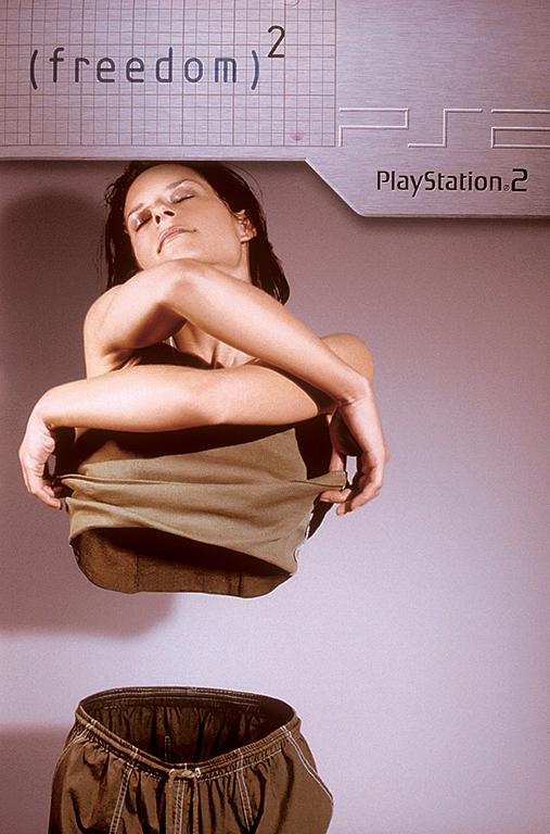 grafika i dizayn  Печатная реклама Playstation