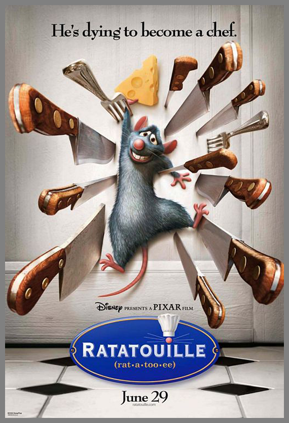 Children Movie Poster - Ratatouille