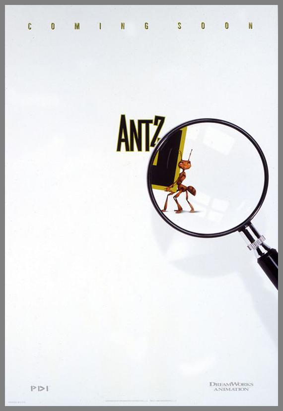 Children Movie Poster - Antz