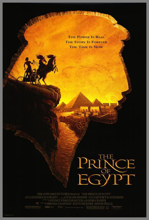 Children Movie Poster - The Prince of Egypt