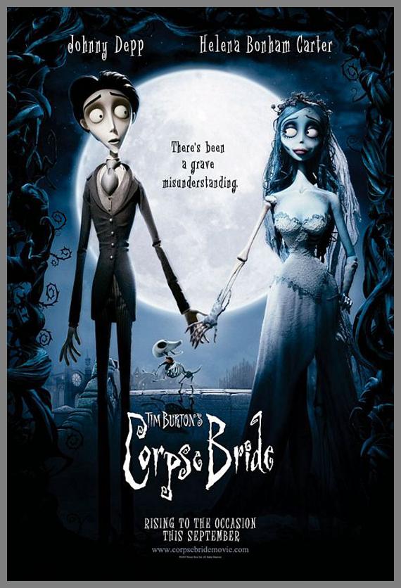 Children Movie Poster - Corpse Bride