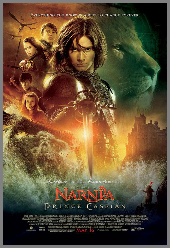 Children Movie Poster - The Chronicles of Narnia