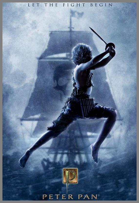 Children Movie Poster - Peter Pan