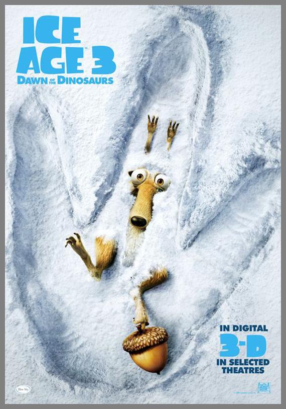 Children Movie Poster -  Ice Age 3