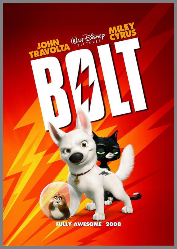 Children Movie Poster - Bolt