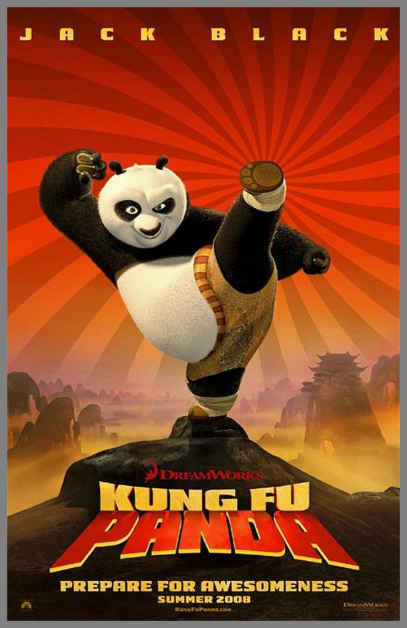 Children Movie Poster - Kung Fu Panda