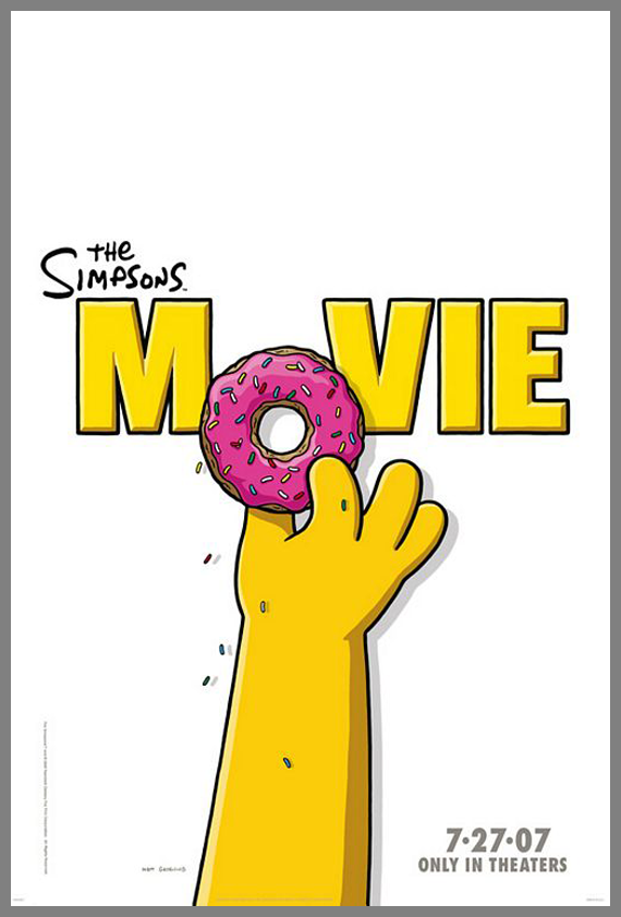 Children Movie Poster - The Simpsons