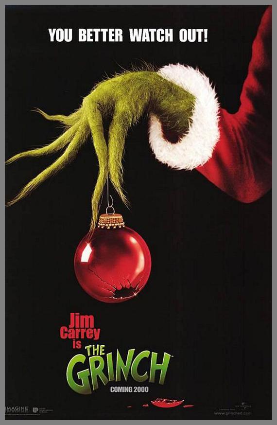 Children Movie Poster - The Grinch