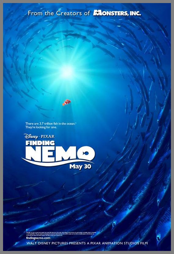Children Movie Poster - Finding Nemo
