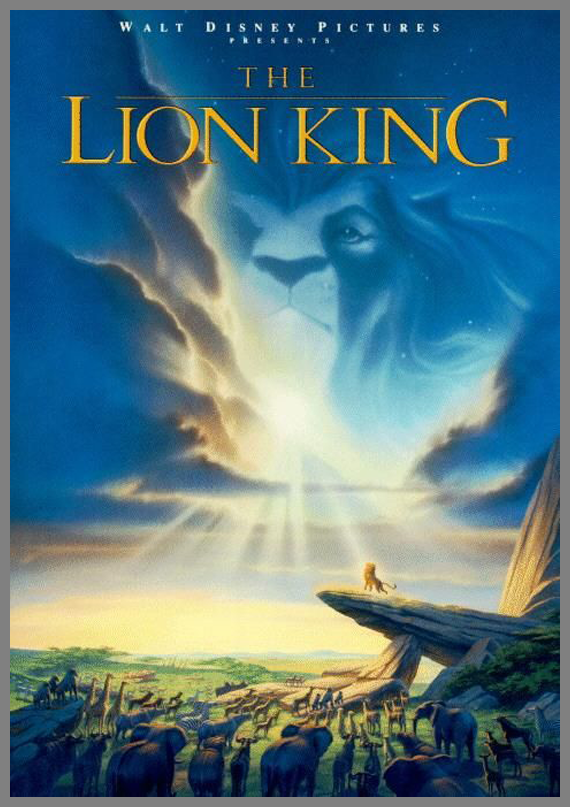 Children Movie Poster - The Lion King