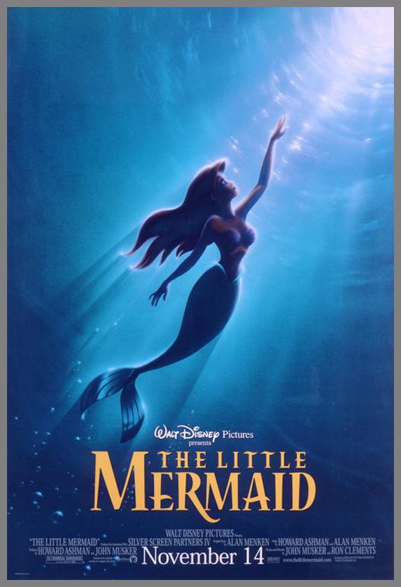 Children Movie Poster - The Little Mermaid