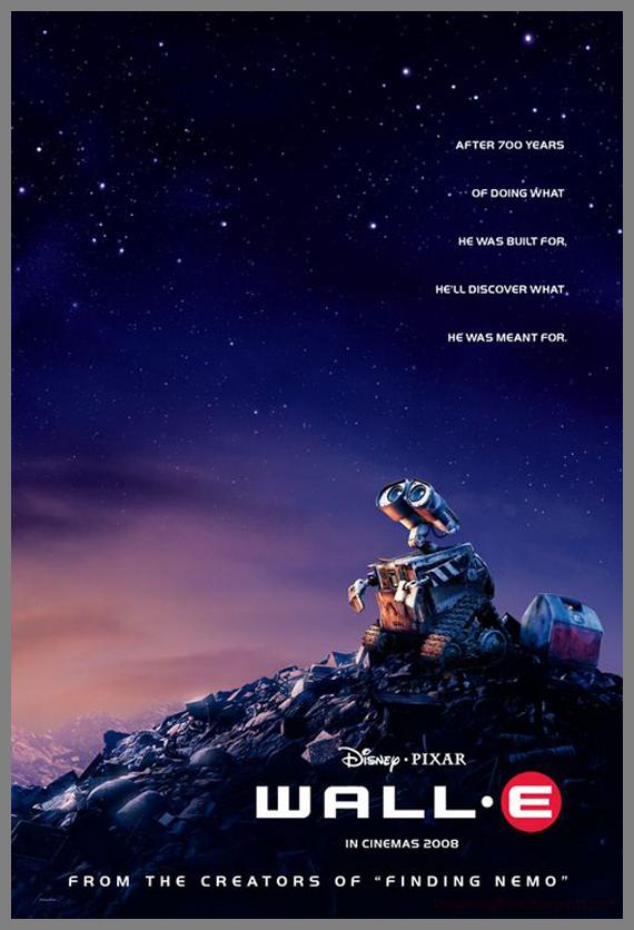 Children Movie Poster - Wall-e