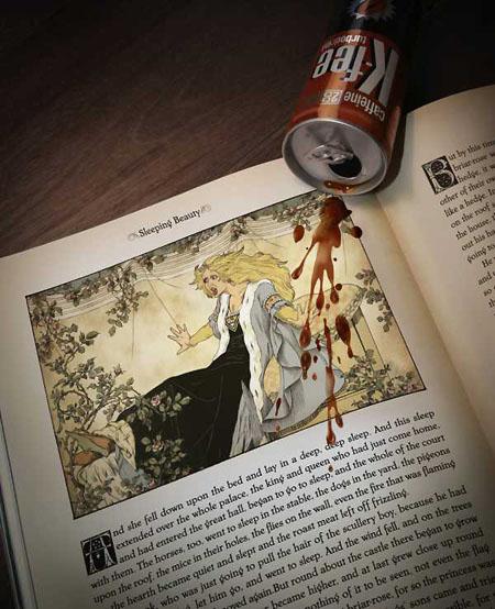 grafika i dizayn  Реклама по мотивам любимых сказок (часть 2)