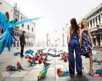 Глобальное потепление объявления в Венеции
