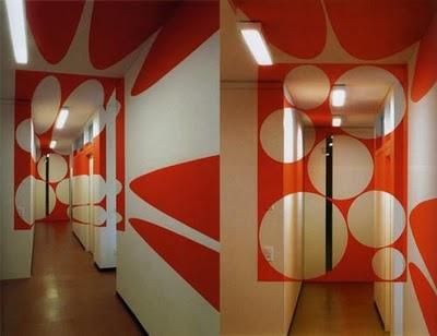Дизайн интерьера: оптические иллюзии в реальности (11) 2