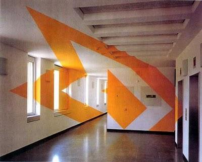 Дизайн интерьера: оптические иллюзии в реальности (11) 6