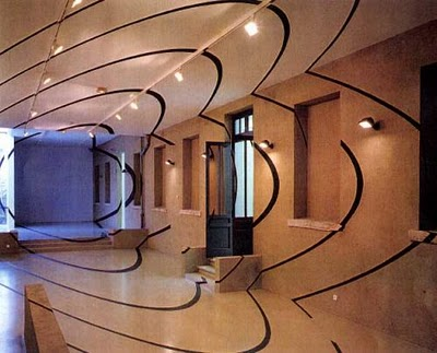 Дизайн интерьера: оптические иллюзии в реальности (11) 8