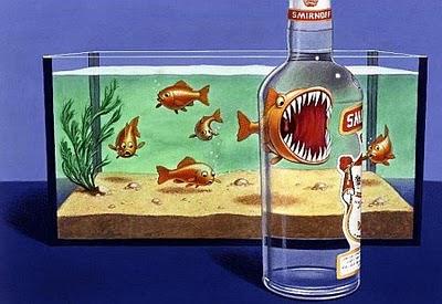 grafika i dizayn  Креативная реклама от Smirnoff
