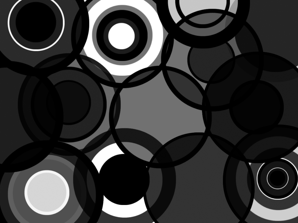 black circles wallpaper by haruhi15 50 Awesome Black Wallpapers