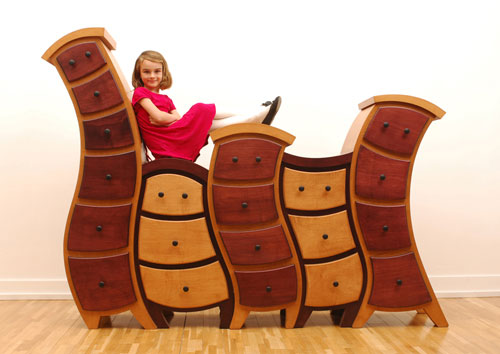 Интересный мультфильм Мебель из прямой дизайн