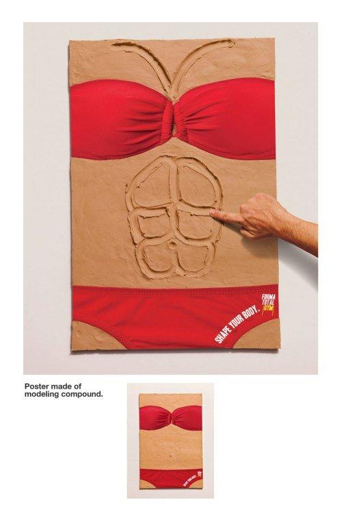 grafika i dizayn  Пластилиновая реклама