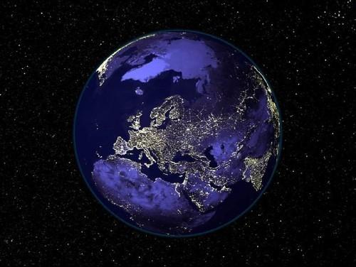 foto mir  Ночная Земля