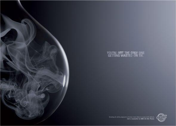 grafika i dizayn  Реклама против курения
