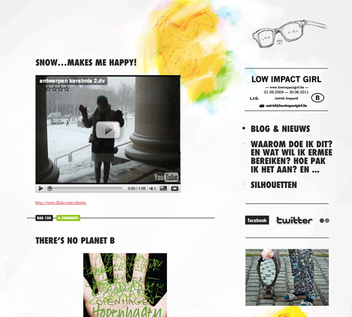 lowimpactgirl 11 Most Popular Blog Design Styles (With Examples)