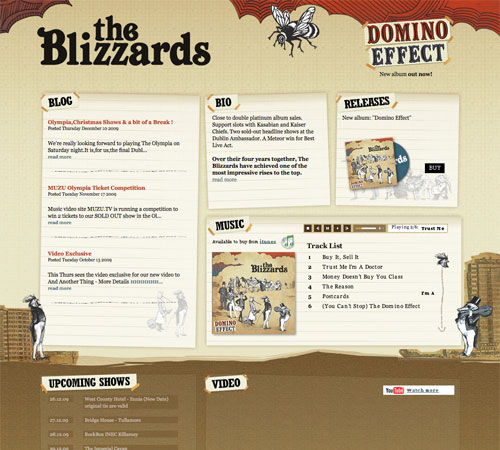 theblizzards 11 Most Popular Blog Design Styles (With Examples)