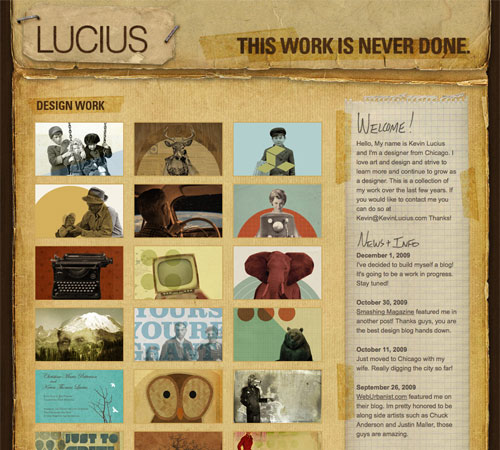 kevinlucius 11 Most Popular Blog Design Styles (With Examples)