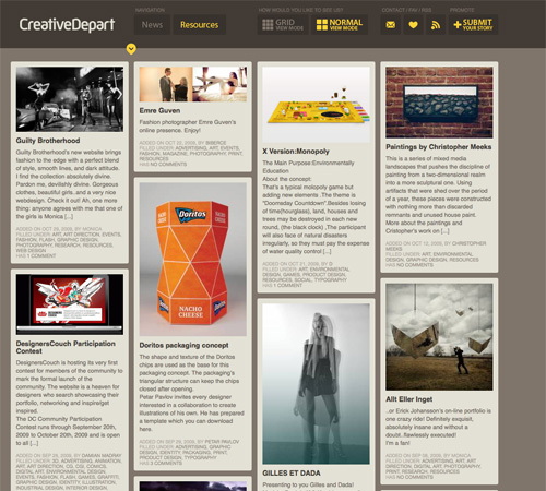 creativedepart 11 Most Popular Blog Design Styles (With Examples)