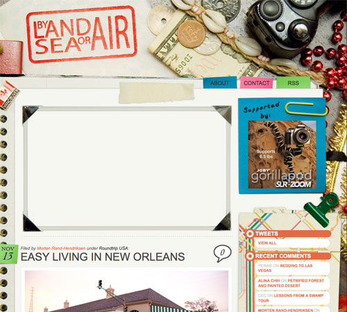 bylandseaorair 11 Most Popular Blog Design Styles (With Examples)