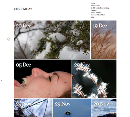 chrismday 11 Most Popular Blog Design Styles (With Examples)
