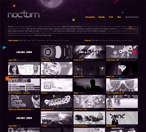 nocturn 11 Most Popular Blog Design Styles (With Examples)
