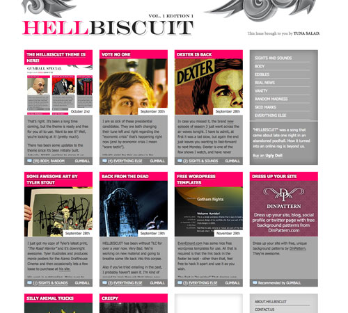 hellbiscuit 11 Most Popular Blog Design Styles (With Examples)
