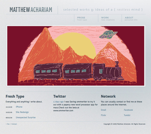 matthewachariam 11 Most Popular Blog Design Styles (With Examples)