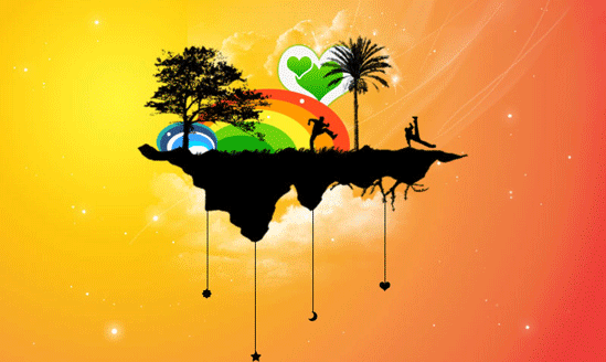 beautiful-rainbow-island-wallpaper