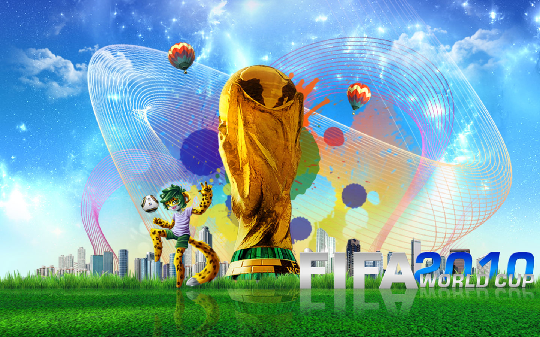 grafika i dizayn  Обои для рабочего стола: кубок мира по футболу 2010