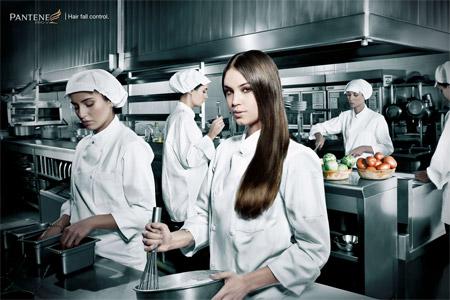 grafika i dizayn  Креативная реклама шампуней