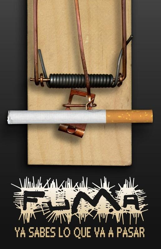 grafika i dizayn  Социальная реклама против курения