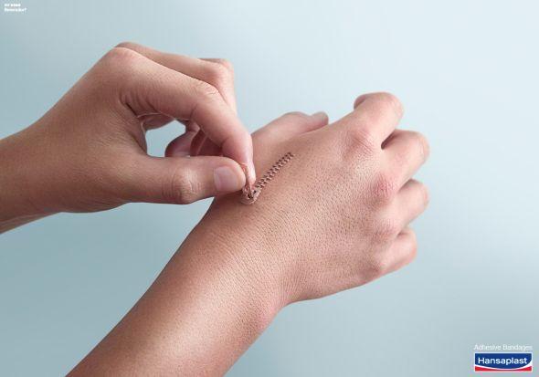 Hansaplast: Hand