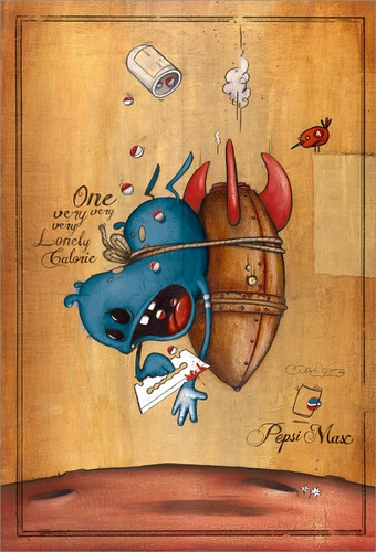grafika i dizayn  Реклама Pepsi Max