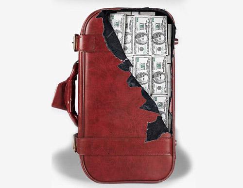 grafika i dizayn  Креативные наклейки для чемоданов