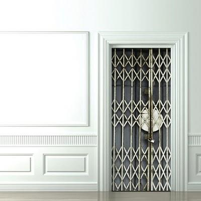 8 Cool и Creative 3D двери Стикеры (8) 3
